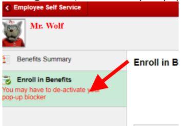 Accessing the Enrollment Portal – Benefits, Employee
